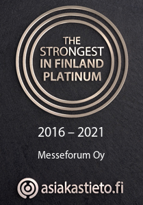Stand builder Messeforum is one of the strongest companies in Finland